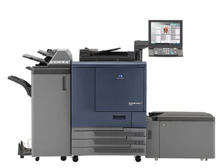 Цифровая машина Konica Minolta Bizhub PRESS C7000
